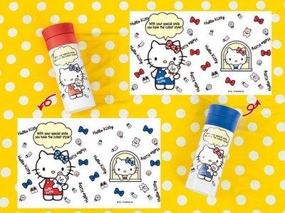 *凱西小舖*日本進口三麗歐正版景品KITTY凱蒂貓不鏽鋼保溫瓶350ml