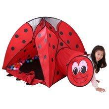 二手商品~雙門隧道式瓢蟲造型折疊帳篷兒童遊戲球屋 新北市