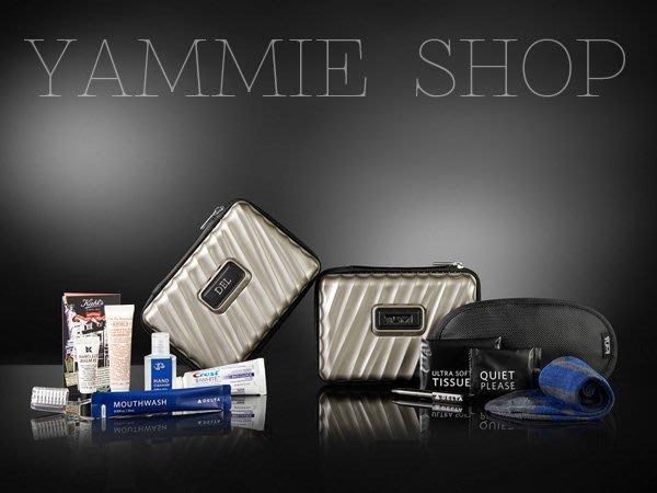 TUMI &達美航空頭等艙 硬殼過夜包 盥洗包 旅行收納包 3C整理包 小行李箱式化妝包 完勝RIMOWA(TBH16)