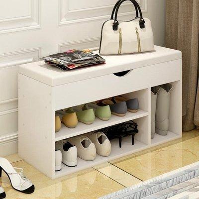 簡約現代換鞋凳式鞋櫃沙發登長凳客廳軟包儲物櫃鞋架進門口穿鞋凳 禮物