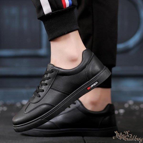 廚師鞋男水滑油廚房專用鞋子黑色上班工作鞋滑板鞋小黑鞋wl11219{}春秋 冰絲 夏裝新款