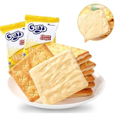 【BOBE便利士】印尼 Gery 厚醬起司蘇打餅乾 起司/巧克力/椰香 袋裝