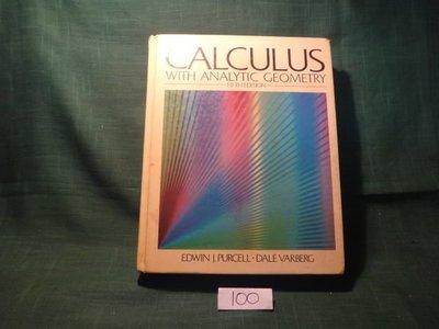 【愛悅二手書坊 20-22】Calculus with Analytic Geometry