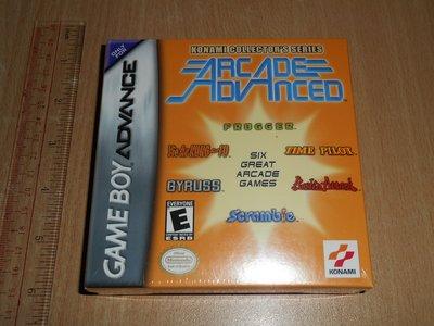全新未開封 任天堂 Game Boy Advance GB GBA 遊戲 Konami Collector Series Arcade 街機 6 in 1 美版