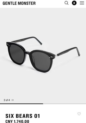 GENTLE MONSTER 韓國V牌真品 six bears 新款太陽眼鏡 墨鏡