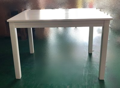 台中二手家具賣場 推薦 宏品全新中古傢俱家電 EA709AJB*全新鋼琴烤漆白色餐桌 會議桌*辦公桌 電腦桌 書桌