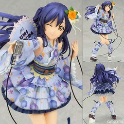 【紫色風鈴3.3】Love Live! 学园偶像祭 园田海未 和服 浴衣 少女盒装 港版