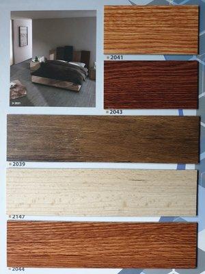 美的磚家~特價! 美樂木紋塑膠地磚塑膠地板~ 經濟耐用 質感佳15cmx90cmx2.0m/m,每坪只要550元