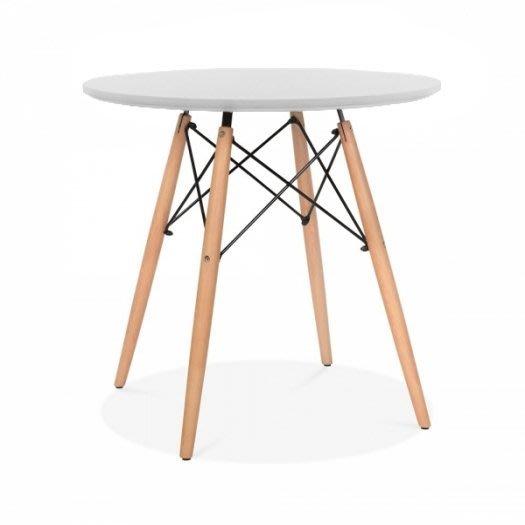 【18 Park 】Charles and Ray Eames 設計師款式 [ DSW圓桌 ] 經典復刻版