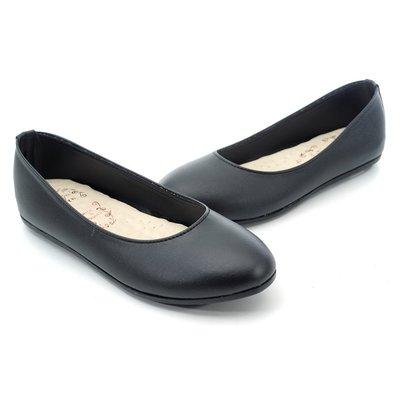 ❤含運❤│鞋念 美人館│MIT OL最愛系列-素雅平底基本款娃娃鞋-黑色36-40碼【9300-89】