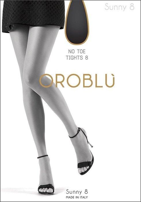°☆就要襪☆°全新義大利品牌 OROBLU SUNNY 極致超薄露趾透明絲襪(8DEN)