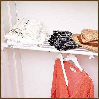 浴室/廚房/臥室【澄境】BR10 左右伸縮多功能強力置物架/收納架/衣物收納