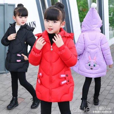 兒童棉衣女2018新款女童加厚保暖棉襖中小童羽絨棉服外套寶寶冬裝