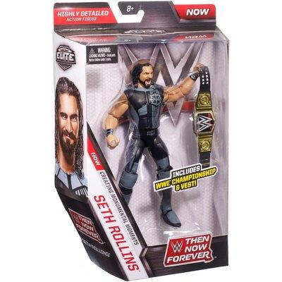 [美國瘋潮]正版WWE Then Now Forever Seth Rollins Elite 永恆時刻精華版公仔人偶