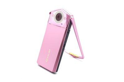 【台中青蘋果】Casio TR80 TR-80 粉 自拍神器 二手 數位相機 公司貨 #43310