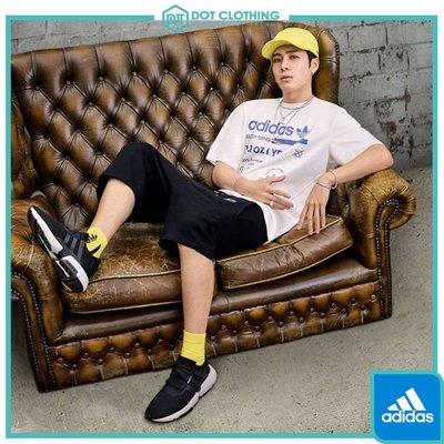 DOT 聚點 Adidas Originals 愛迪達 Logo 棉質 黑白 運動短褲 棉短褲 王嘉爾 DT0929