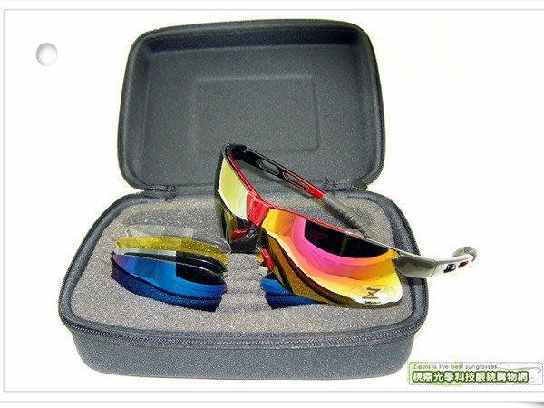 【Z-POLS 新一代酷悍款】頂級超軟腳骨架設計!五組可換鏡多功能運動太陽眼鏡!獨家上市!