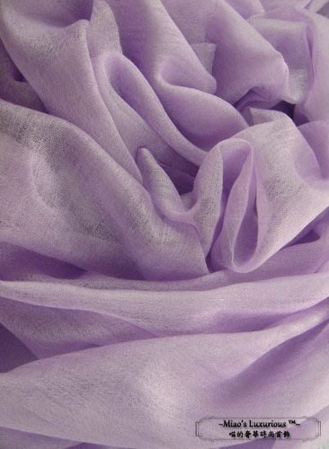 100% cashmere 紫羅藍色--頂級300支pashmina Shahmina全賣場同價位任選2件4000送洗劑