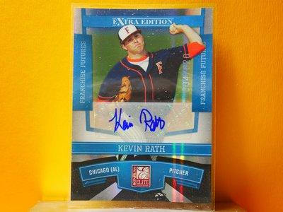 Kevin Rath 2010 Donruss Elite Autograph 新人簽名卡 RC 限820