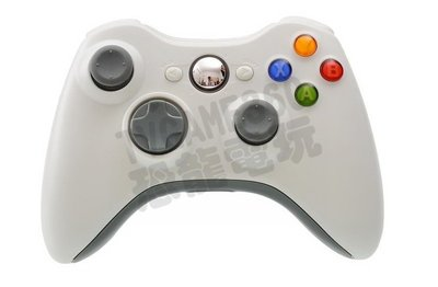 XBOX360 原廠無線控制器 無線手把 把手 手柄 手把 搖桿 白色 全新裸裝【台中恐龍電玩】