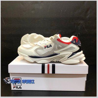 ╭*dodo_sport*╯FILA SKIPPER 中性慢跑鞋-米白 4-J528T-131