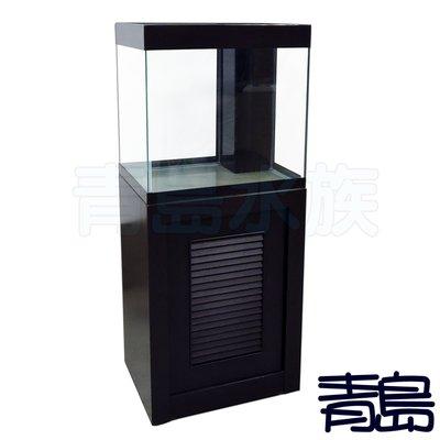 AX。。。青島水族。。。台灣精品---高品質底部過濾缸 底濾套缸==2尺缸+架/ 約60*45*60cm 新北市