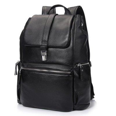 【超高CP值】牛皮背包代理雙肩包真皮男士歐美時尚小旅遊包休閒時尚運動