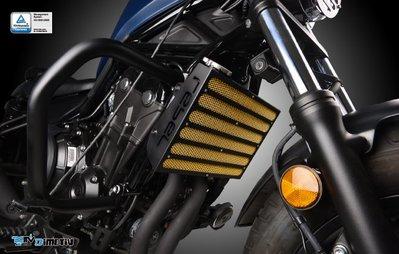 【R.S MOTO】HONDA REBEL500 水箱護網 水箱保護 DMV
