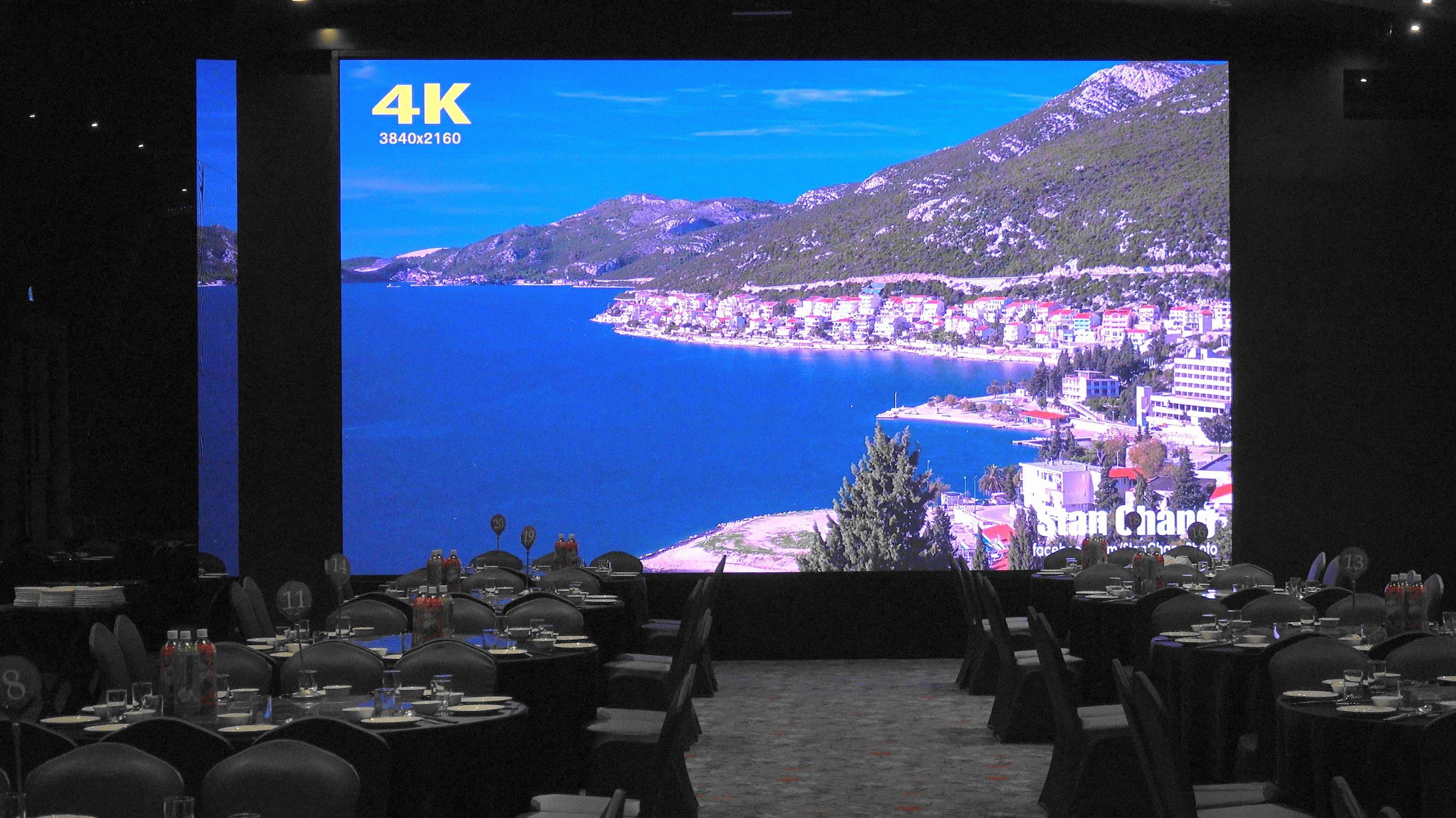 LED電視牆 2020億達光電P3 最新250吋4k面板獨家拍攝無雜訊技術