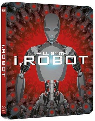 毛毛小舖--藍光BD 機械公敵 限量鐵盒版 I, Robot 威爾史密斯
