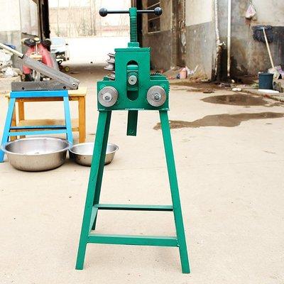 多功能手搖不銹鋼彎管機 手動彎管器大棚車棚圓管方管35 40 50型 YTL