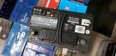 (鶯歌中古電池) 福斯VW原廠 LN3 EFB 70AH 免保養汽車電池 數值漂亮,品項優 同56638 歐系車專用
