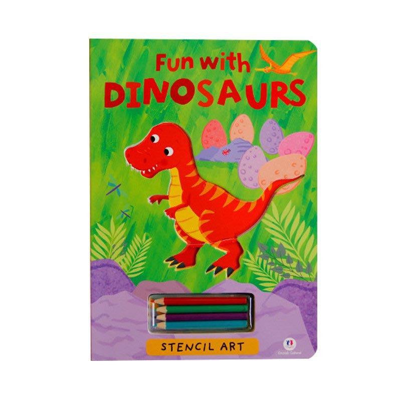 聚吉小屋 #兒童早教繪畫本2-3-4-5歲啟蒙益智涂鴉模板彩色填色本英文繪本