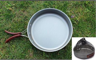 △GOGO露△ 現貨🔥 煎鍋 折疊手把 平底鍋 戶外 登山 露營 野炊
