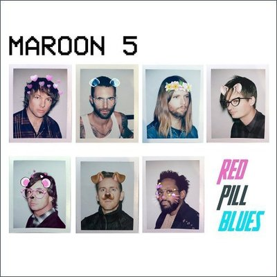 音樂居士*汽車載CD: Maroon 5 - Red Pill Blues (Deluxe Edition)*CD專輯