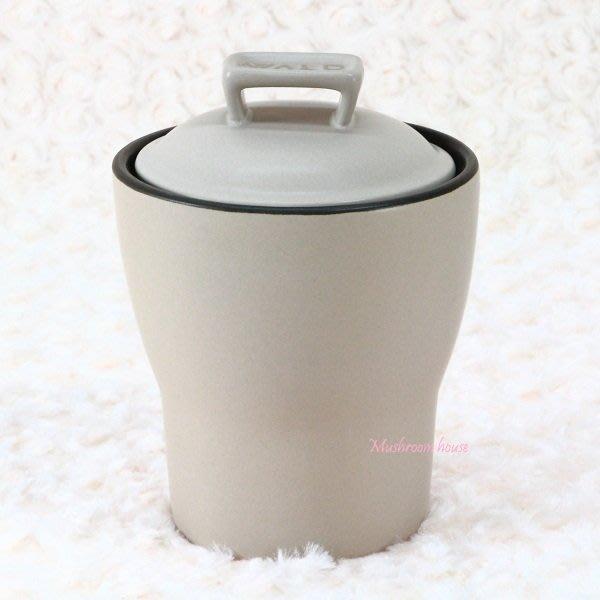 點點蘑菇屋{密封罐}義大利WALD生活廚房系列米色霧面高溫陶瓷收納罐 置物罐 現貨