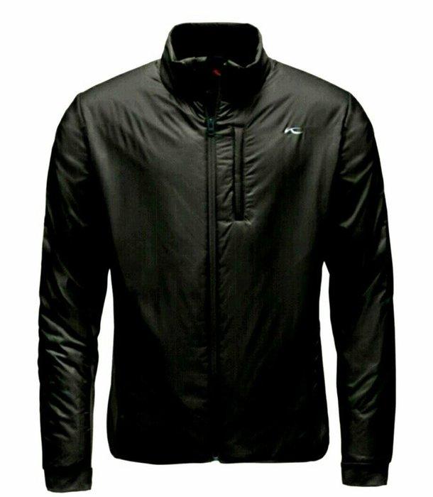 德國 KJUS Stream Jacket 男性超輕量彈性填充科技棉保暖立領外套,黑色,大尺碼,全新現貨