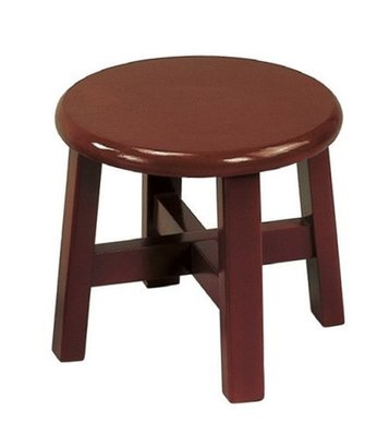 【浪漫滿屋家具】(Gp)604-5 8.5吋小古椅(紅木色)