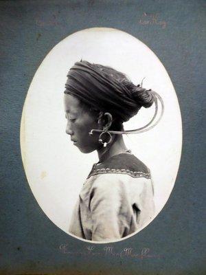 (徐宗懋圖文館)1925年法屬印度支那人文風情相冊,共101張照片(品相質量良好)