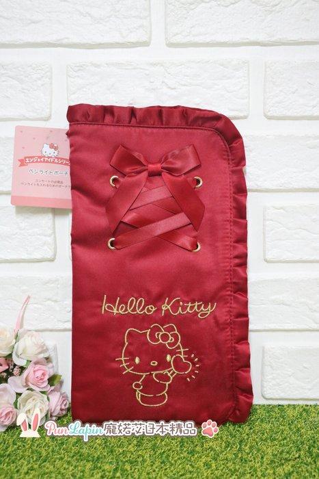 (現貨在台)日本正品Sanrio 三麗鷗 萬用包 收納包 化妝包 L型包 手拿包 隨身包 Hello kitty 凱蒂貓
