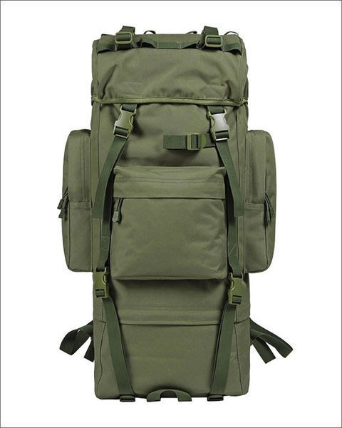 全新   戶外登山背包 65升 防水旅行包 雙肩包 鋁架 不含防雨罩 電腦包 BN-008 K139
