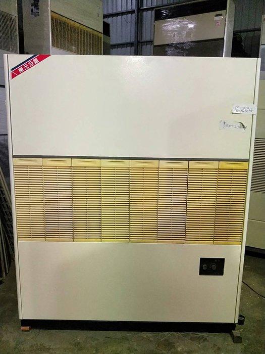 (大台北)中古東元15RT水冷箱型機3φ220V(編號:TE1080706)*廠房發電機冷氣拆除.冰水機二手回收租賃 *