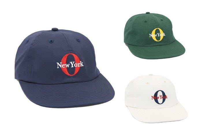 { POISON } ONLY NY WESTSIDE POLO HAT 經典O LOGO刺繡老帽棒球帽 美國製