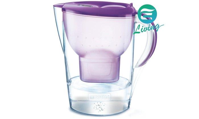 【易油網】BRITA MARELLA XL 3.5L 濾水壺+濾心1個 紫色 比Costco便宜 #82857