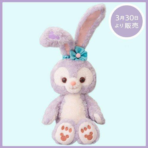 尼德斯Nydus~* 日本 東京迪士尼海洋限定 達菲熊 Duffy 新朋友 史黛拉兔 Stella Lou 絨毛玩偶