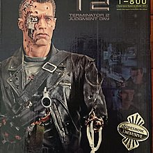 Terminator T2 judgment day t-800 mini bust sideshow exclusive 未來戰士 半胸 statue