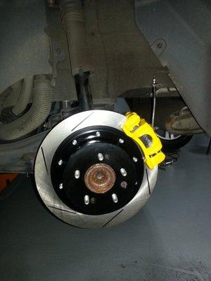 升逸精品輪胎館 HHC 後雙片加大碟盤 325MM 現代 ELANTRA IX35~歡迎洽詢