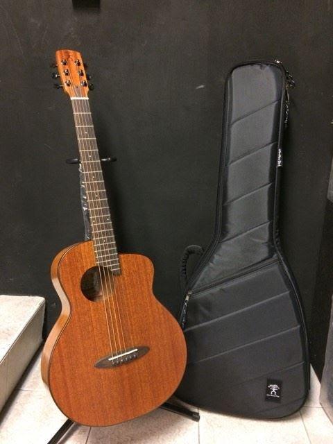 【金聲樂器】aNueNue 鳥吉他 M20E 36吋 高級面單旅行吉他 附贈 Deluxe高級款琴袋