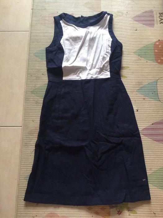Tommy Hilfiger 藍白無袖洋裝 size 2