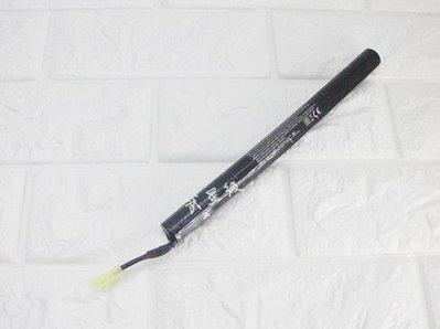台南 武星級 9.6V 鎳氫電池 棒狀 ( 充電電池AEG EBB電動槍AK步槍BB槍BB彈玩具槍長槍模型AK47